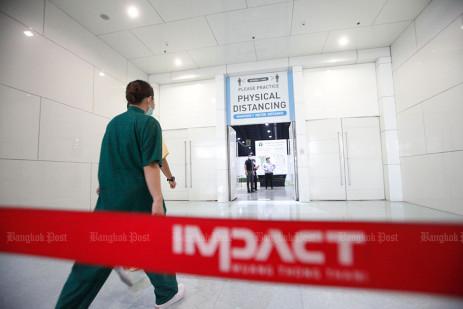 Thailand's biggest field hospital -0