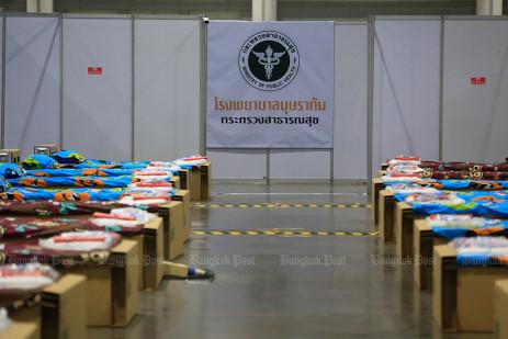 Thailand's biggest field hospital -2