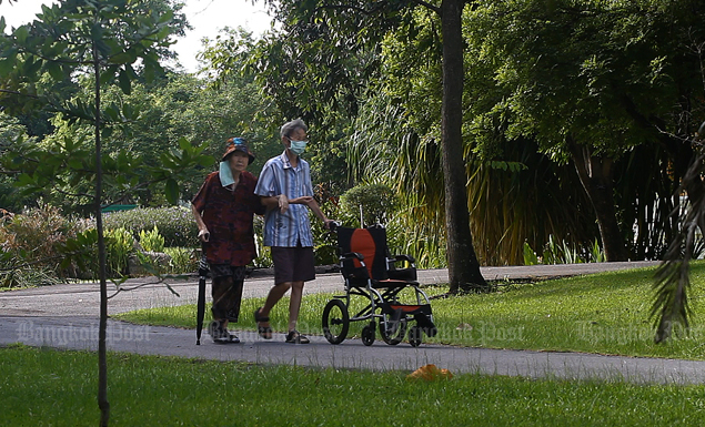 Bangkok parks reopen