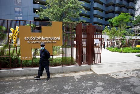 New pocket park in Bangkok -0