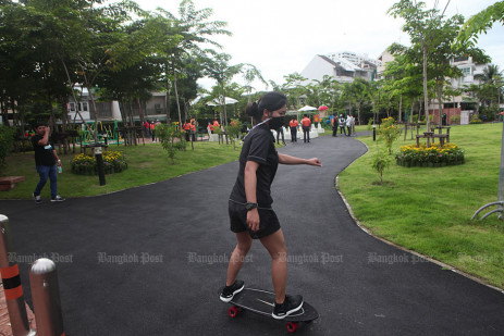 Another new park in Bangkok ready to welcome visitors -0