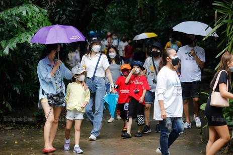Bangkok's biggest open zoo reopened -2