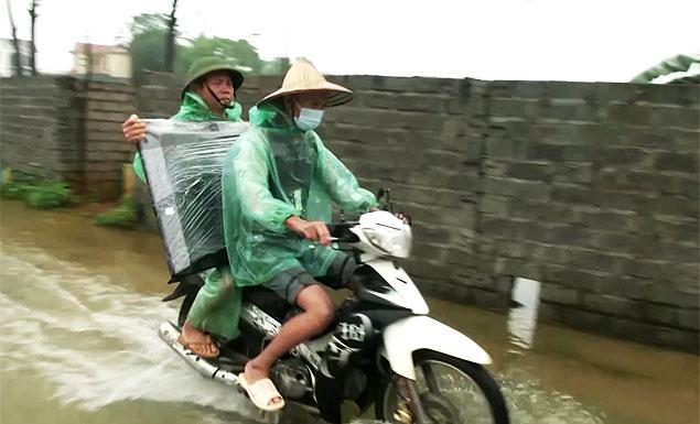 Vietnam flooding and landslides kill three