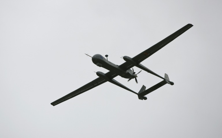 Israeli Heron TP drones are used for surveillance but can also be equipped with missiles