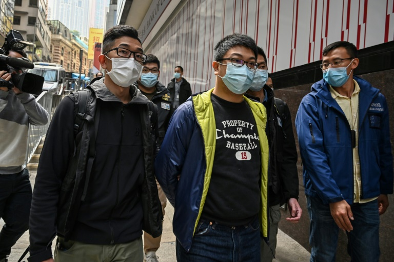 Dozens of Hong Kong pro-democracy figures arrested
