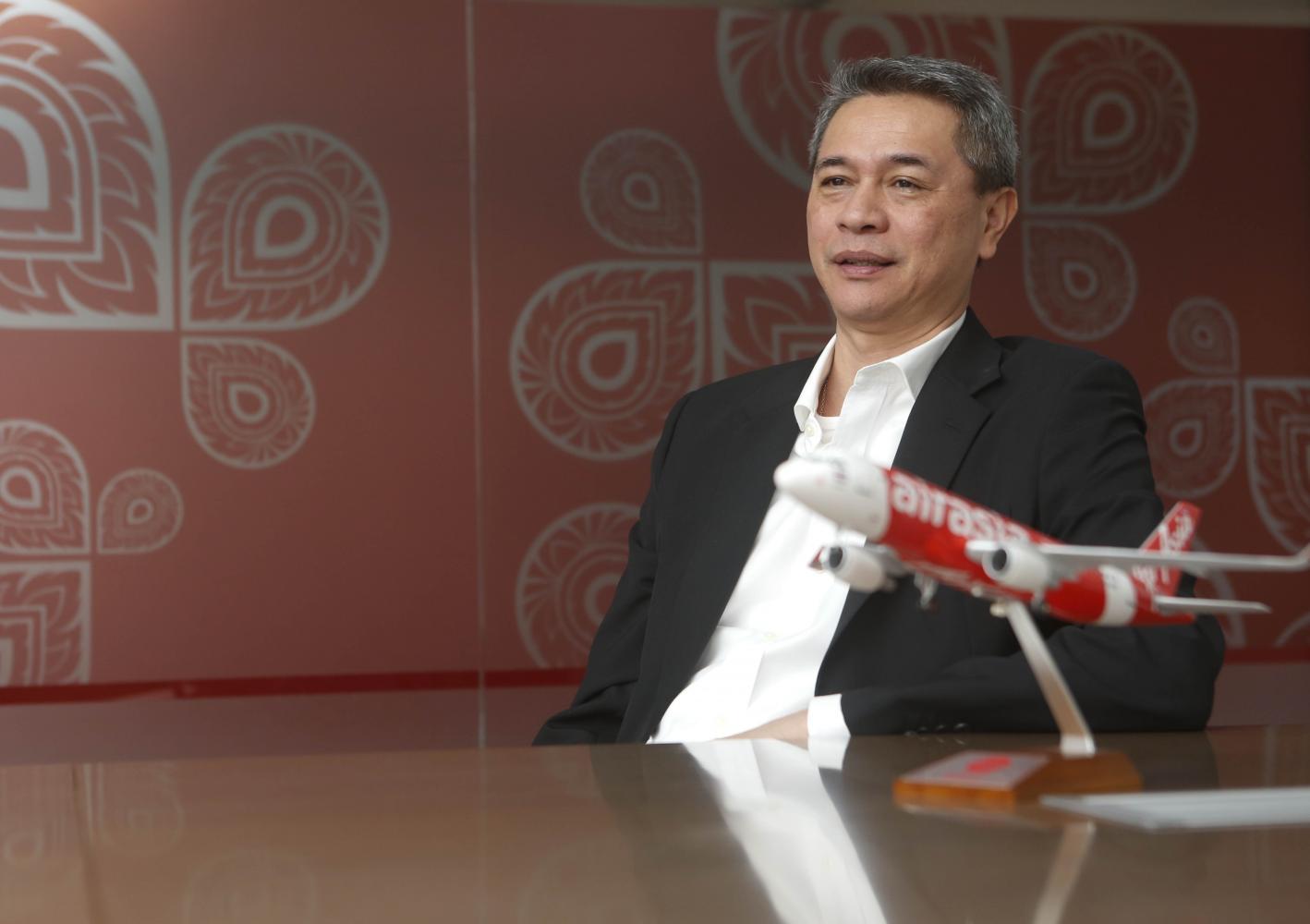 Tassapon Bijleveld, executive chairman of Asia Aviation