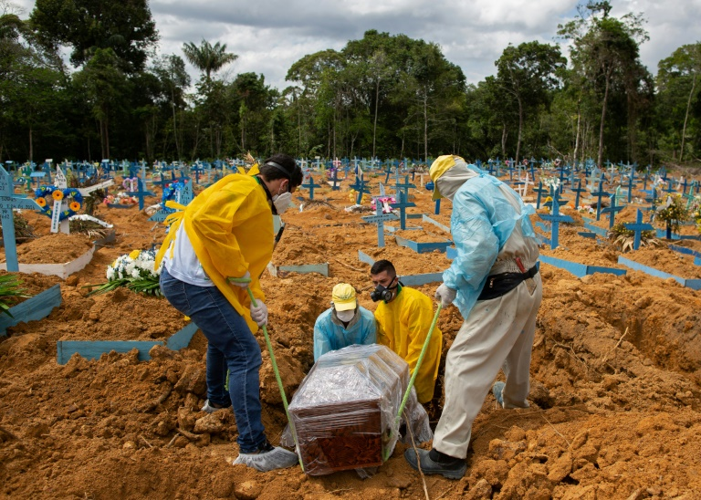 Grim start to 2021 for Brazil with 200,000 Covid deaths