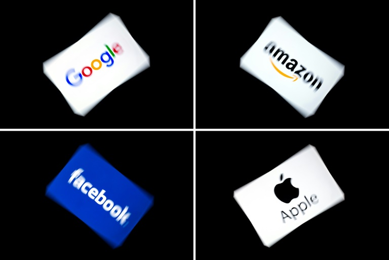 Washington imposed tariffs in retaliation for the tax France approved in 2019 on tech firms like Facebook, Amazon, Apple and Google, which were accused of moving their profits offshore.