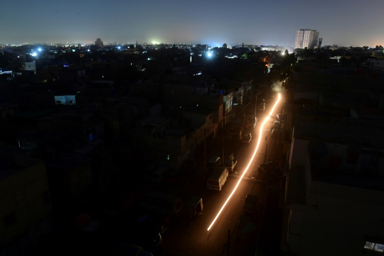 The blackout in Pakistan plunged much of the country, including its economic hub Karachi, into darkness.