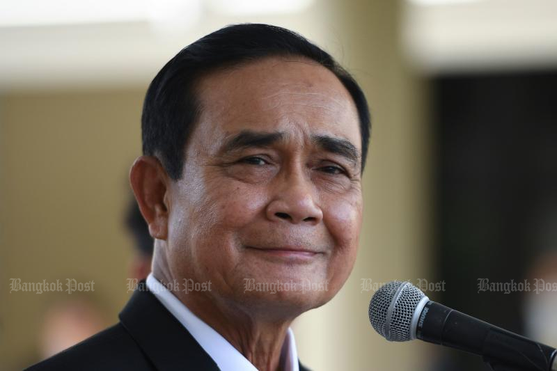 FILE PHOTO: Prime Minister Prayut Chan-o-cha attends a signing ceremony for the agreement to purchase AstraZeneca's potential Covid-19 vaccine at Government House in Bangkok on Nov 27, 2020. (AFP)