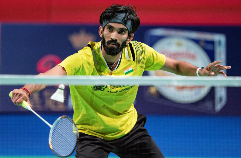 Indian shuttler Kidambi Srikanth (Reuters file photo)
