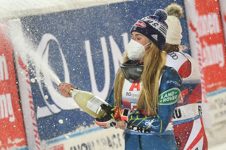 Mikaela Shiffrin's win on Tuesday was her first in the slalom discipline in over a year.