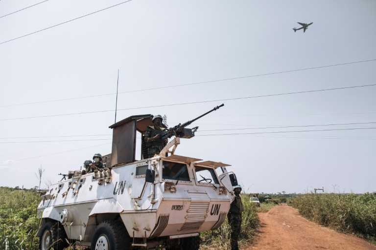 UN peacekeepers have been helping push back rebel attacks