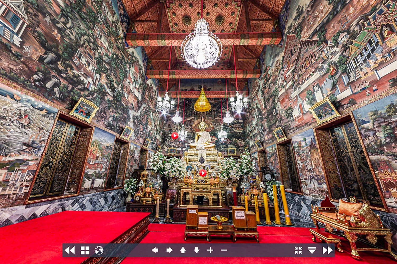 Virtual visit to Wat Arun