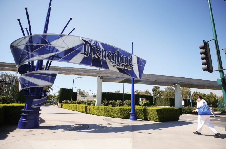 Disneyland opens mass Covid vaccination center
