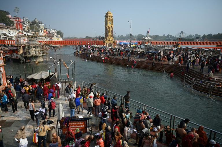 Several million pilgims are expected to visit Haridwar over the coming seven weeks.