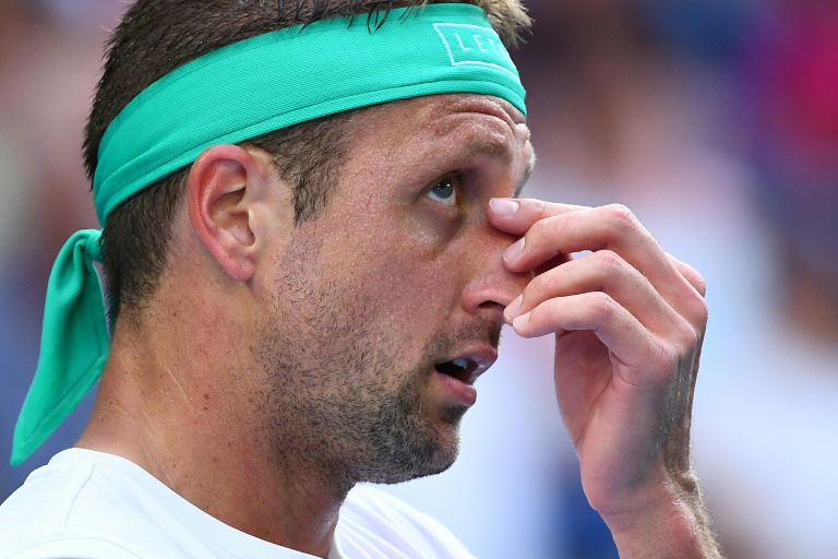 Tennys Sandgren has twice tested 'positive' to Covid-19