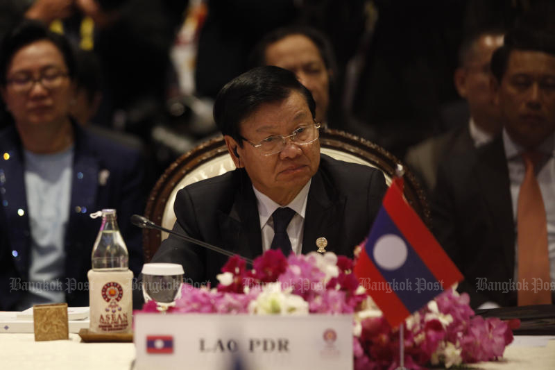 Laos names PM Thongloun as new party leader