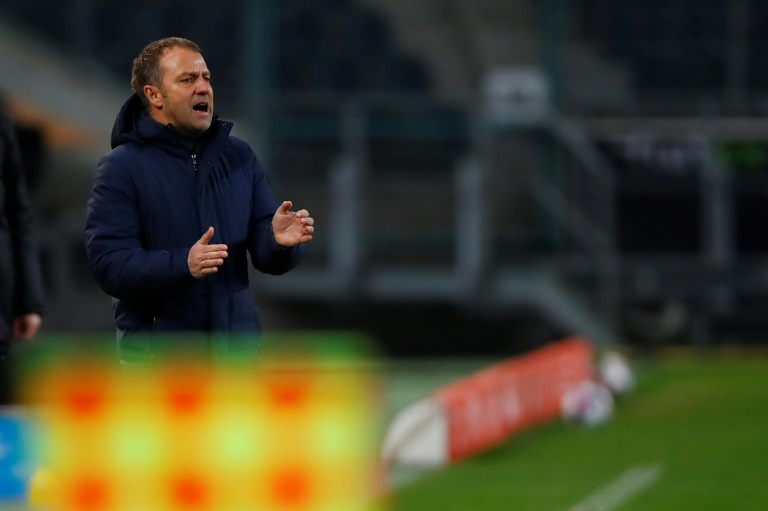 Bayern Munich coach Hansi Flick is under pressure after back-to-back defeats.