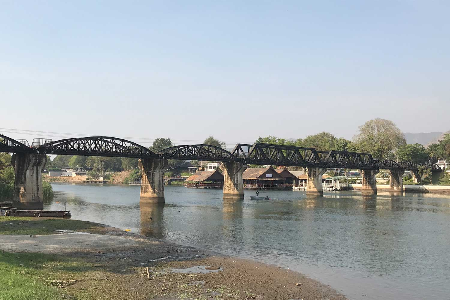 River Kwai bridge vendors bemoan lack of tourists