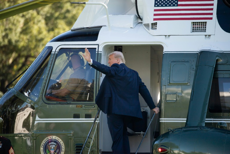 Trump to leave town early Wednesday before Biden inauguration