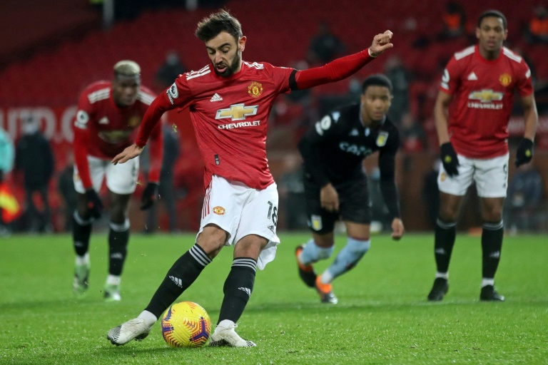 Fernandes hits back at Klopp over penalty claims