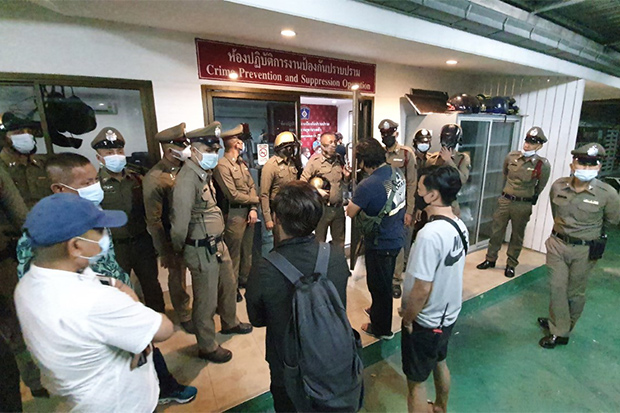 Police put under pressure, release WeVo guard