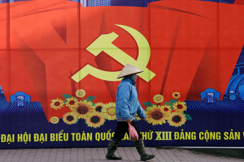 Vietnam steps up 'chilling' crackdown on dissent ahead of congress