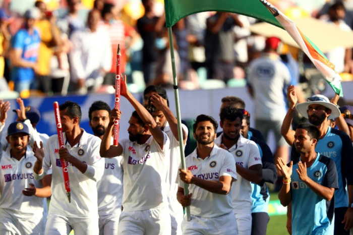 Record-breaking India clinch Australia Test series in Gabba thriller