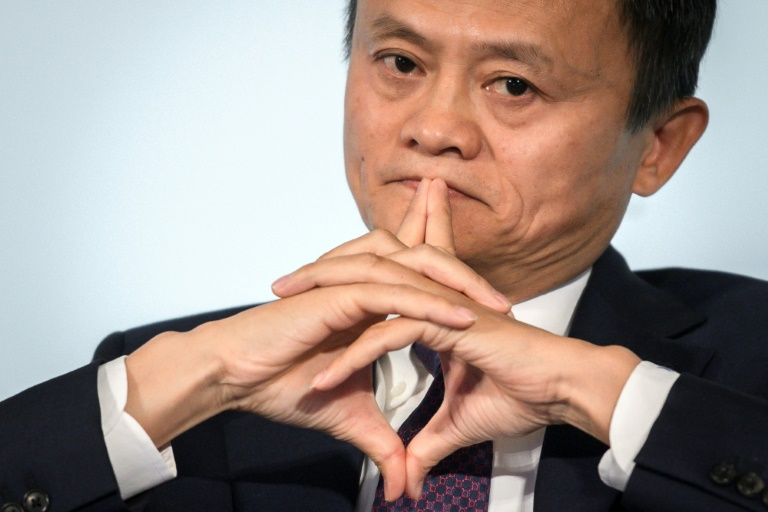 Alibaba's shares surge as Jack Ma reappears