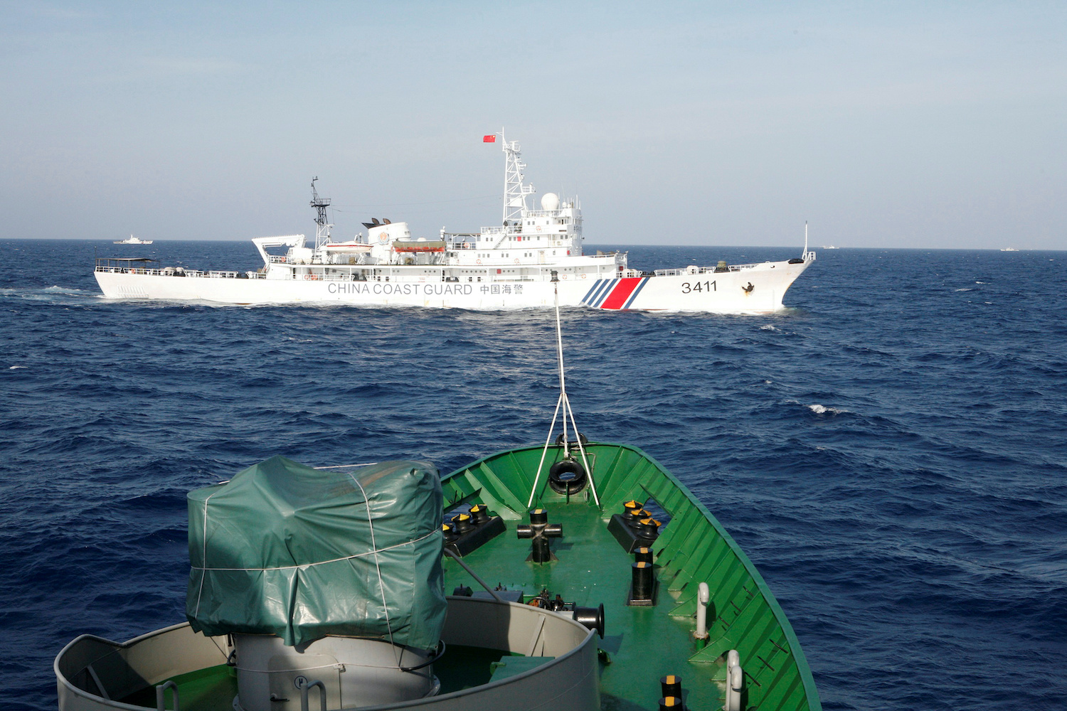 New Law Allows China's Coast Guard to Fire on Foreign Vessels