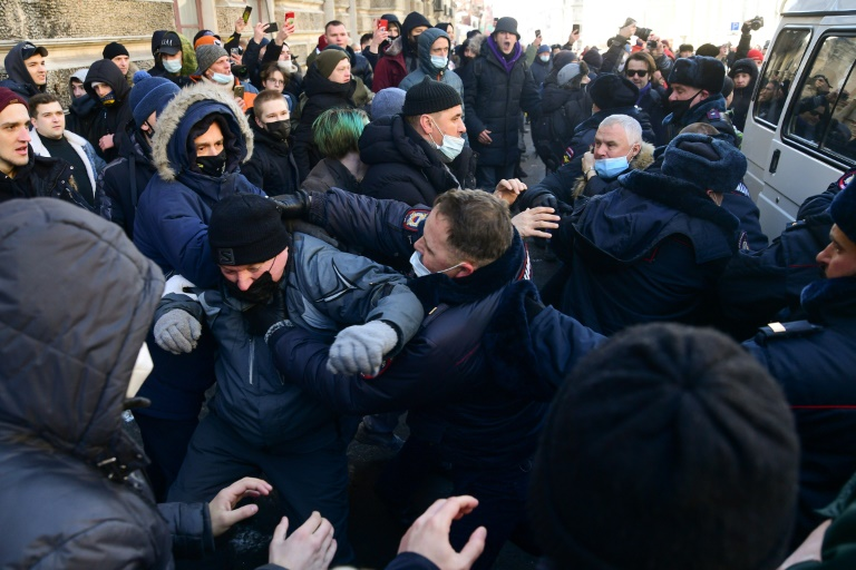 Russia detains dozens of Navalny supporters
