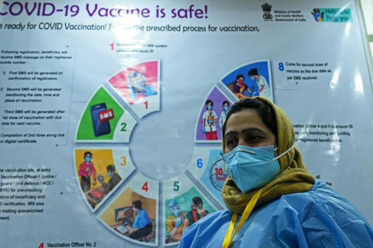 Tears and fears as India's huge coronavirus vaccine push falters