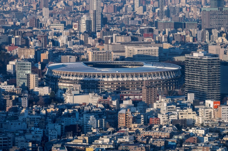 Japan's National Stadium, main venue for the Tokyo Olympic and Paralympic Games -- Florida has offered to host the games if Tokyo backs out because of coronavirus fears.