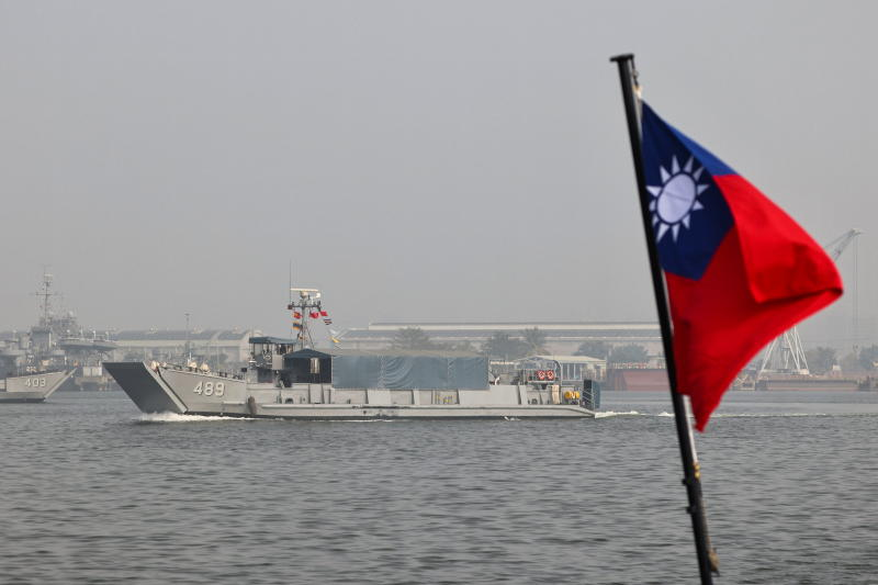 China says flyovers in Taiwan Strait a 'solemn warning'
