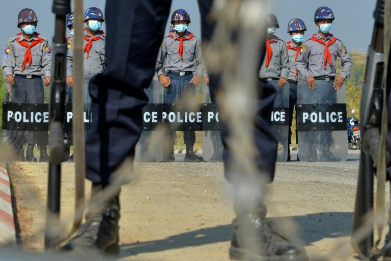Myanmar is just a decade out of nearly 50 years of military rule. (AFP Photo)
