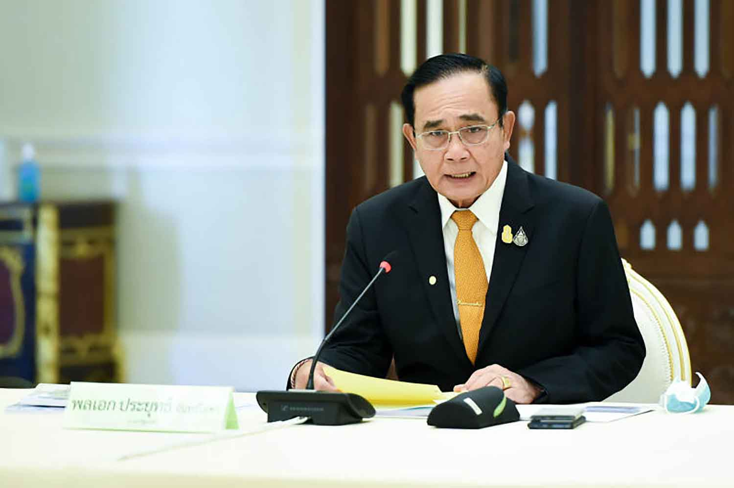 Prime Minister Prayut Chan-o-cha (Government House photo)