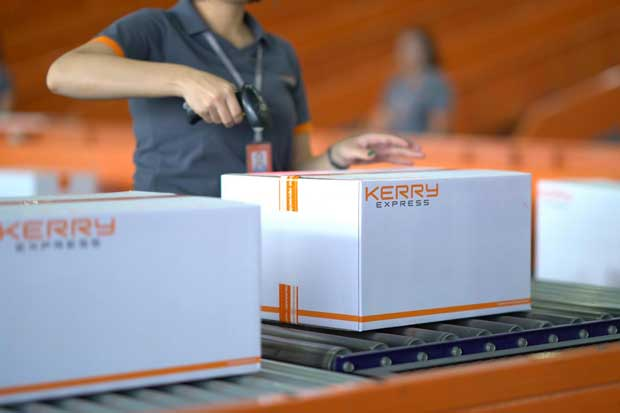 Kerry Express set an ambitious goal to increase its delivery-handling capacity to 3 million parcels a day by 2023.