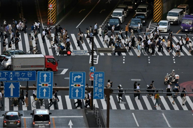 Japan's virus measures are limited, with bars and restaurants requested but not obliged to close by 8pm and working from home strongly recommended. There are no blanket stay-at-home orders.