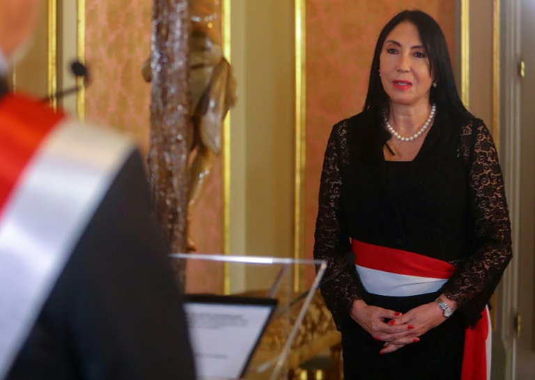 Peru's foreign minister Elizabeth Astete resigned Sunday after admitting she had received her first Covid-19 vaccination last month
