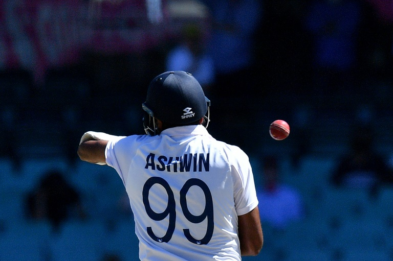 Ashwin scored his fifth Test century in the second match against England