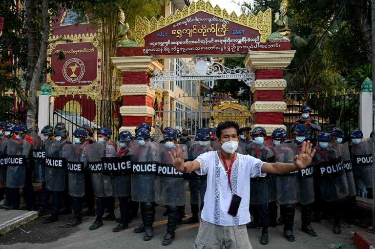Myanmar's bloodiest day of protest since coup