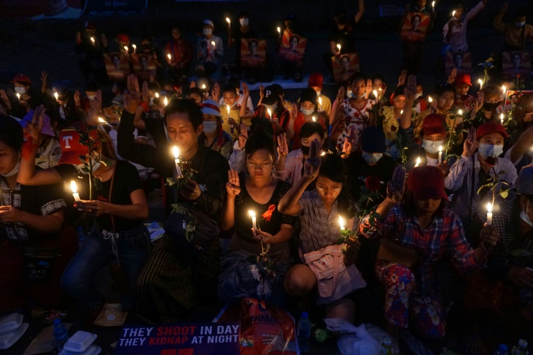 There has been outrage in Myanmar over the military coup that ousted civilian leader Aung San Suu Kyi earlier this month.