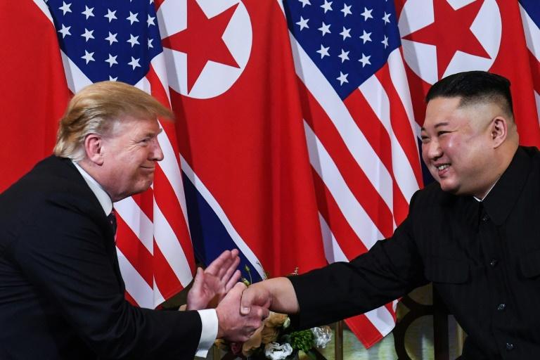 Donald Trump met Kim Jong Un in Hanoi in 2019.