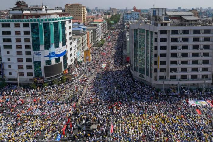 International pressure mounts on Myanmar junta as protests go on