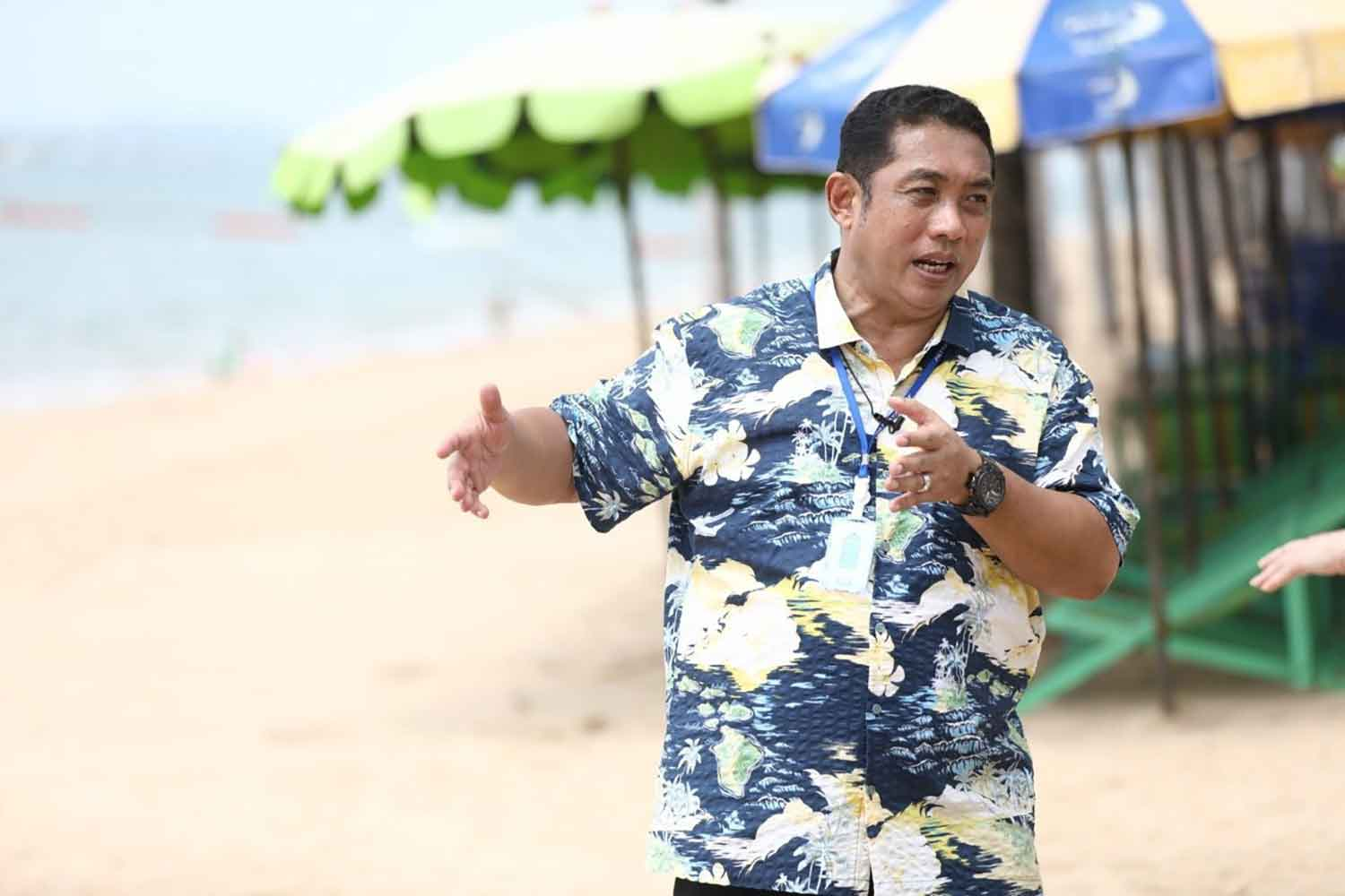 Pattaya mayor Sonthaya Khunpluem.
