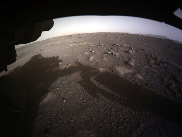 NASA releases first audio from Mars, video of landing