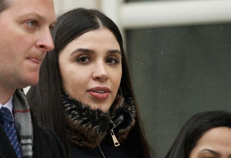 Emma Coronel Aispuro, wife of convicted Mexican drug lord Joaquin