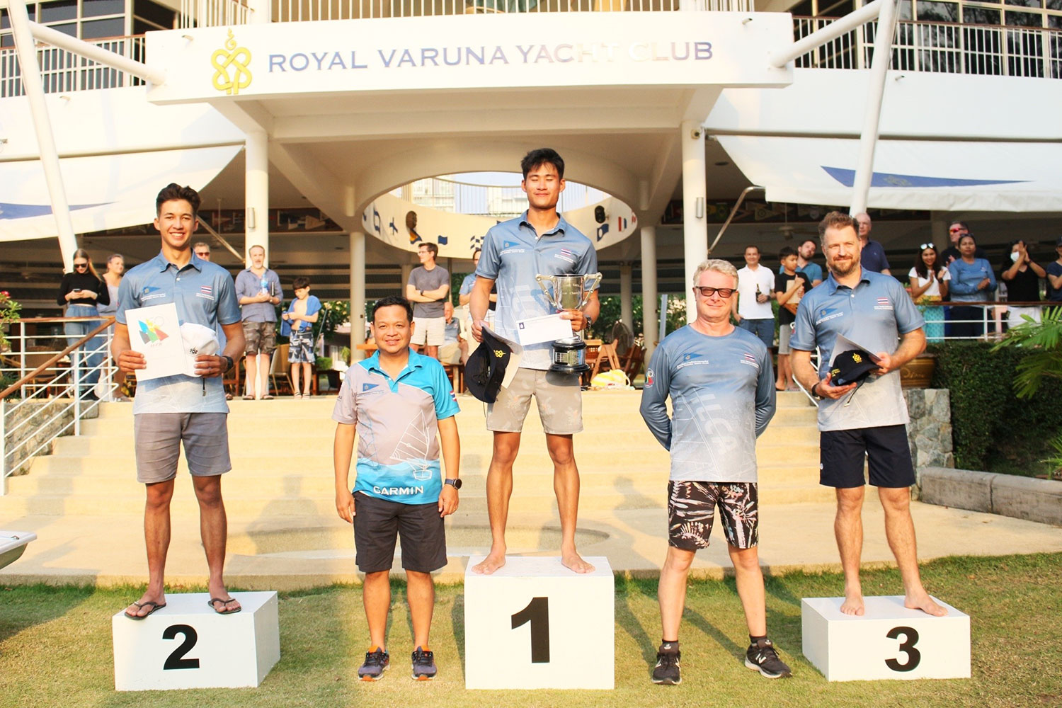 Thai sailors showcase skills at nationals