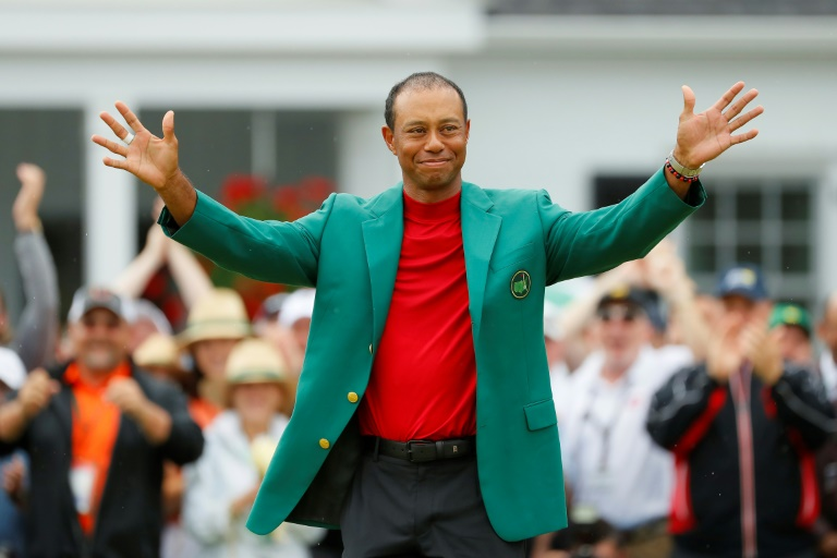 Tiger Woods, celebrating his 15th major title at the 2019 Masters, has been among the world's most famous athletes for the past 25 years.